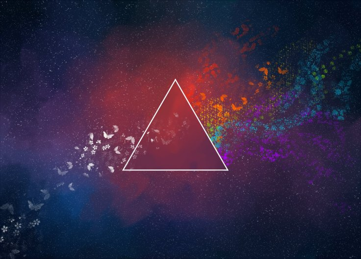 triangle-art