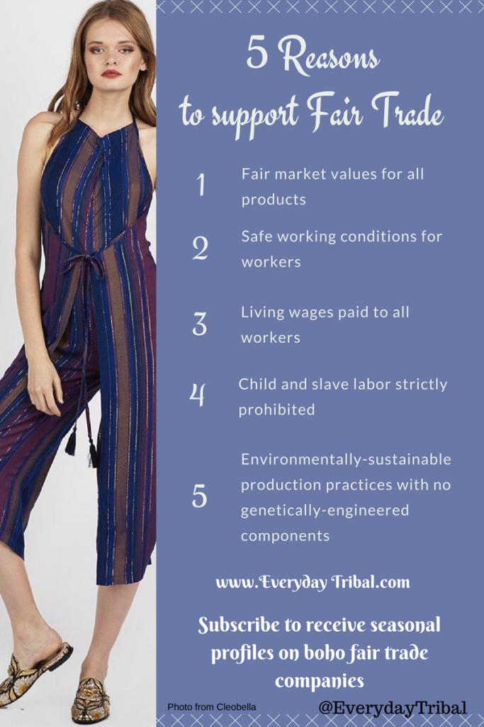 5 Reasonsto support Fair Trade