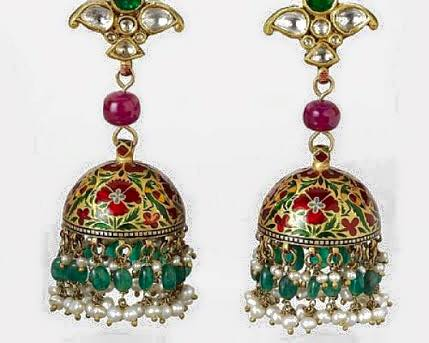 Bhandari Jewellers Designer Earrings