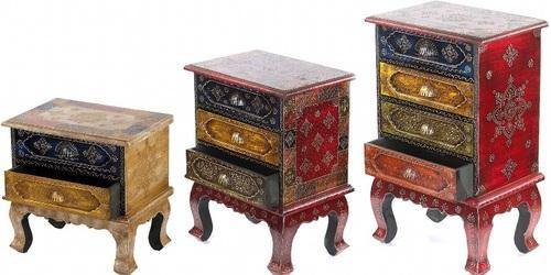 Painted Carved Chests (IndiaMart)