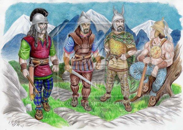 celtic_boii_warriors_by_danbrenus